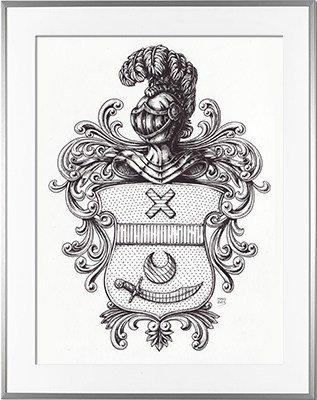 Escudo de armas AINHOA (País Vasco)