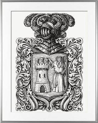 HERALDIKER - Escudo de armas SAINT JEAN PIED-DE-PORT (País Vasco)