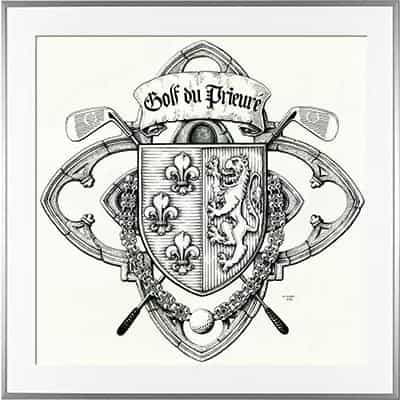 Escudo de armas GOLF OF THE PRIEURE