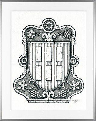 Escudo de armas IROULEGY - IRULEGI (País Vasco)