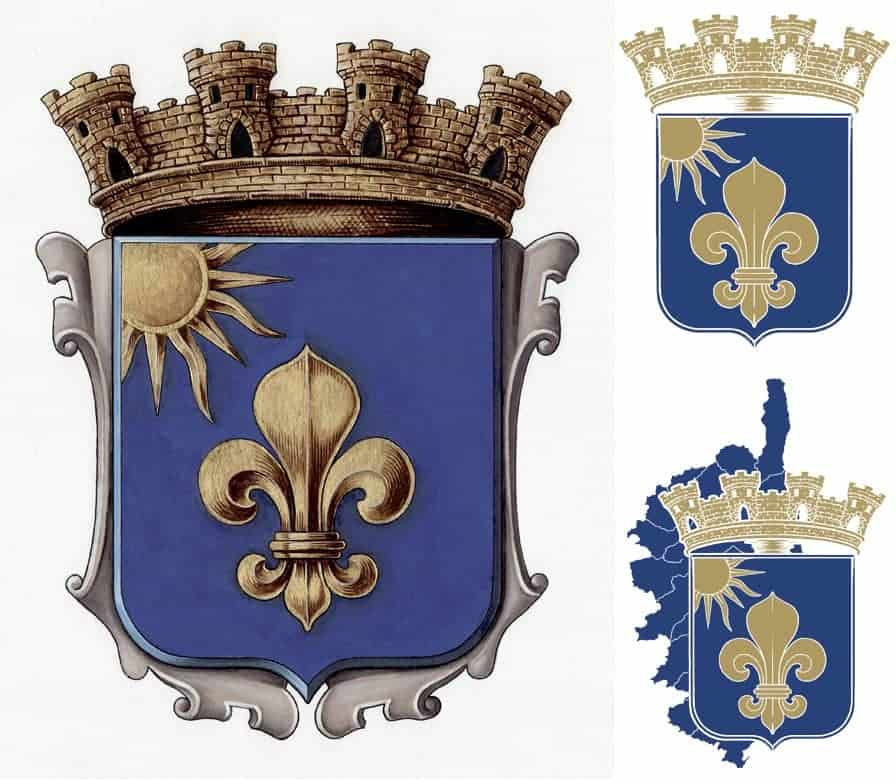 création reproduction armoiries blason héraldique héraldiste artiste création logo entreprise ecole ville village commune