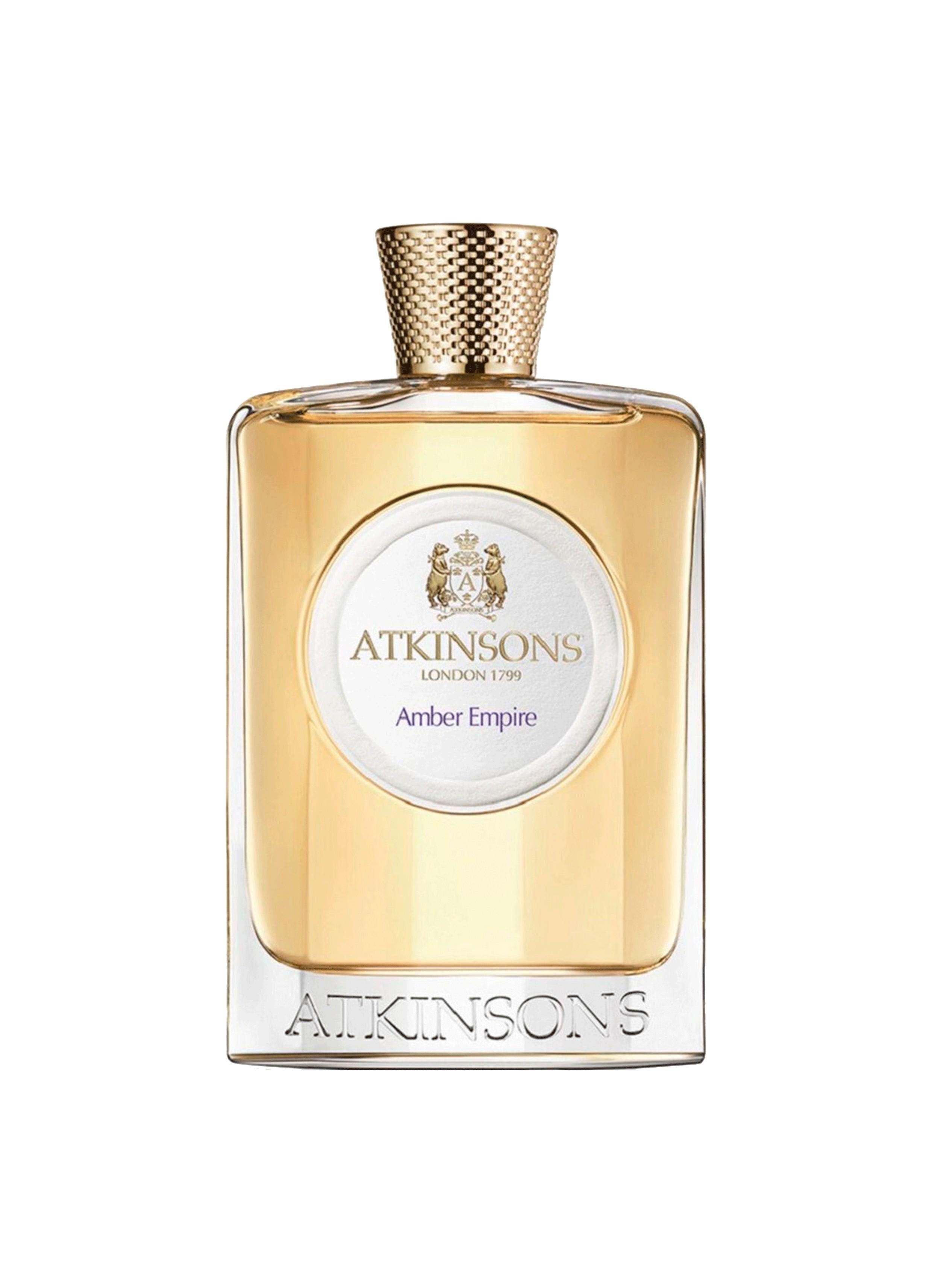 Flacon parfum ATKINSONS Amber Empire www.atkinsons1799.com