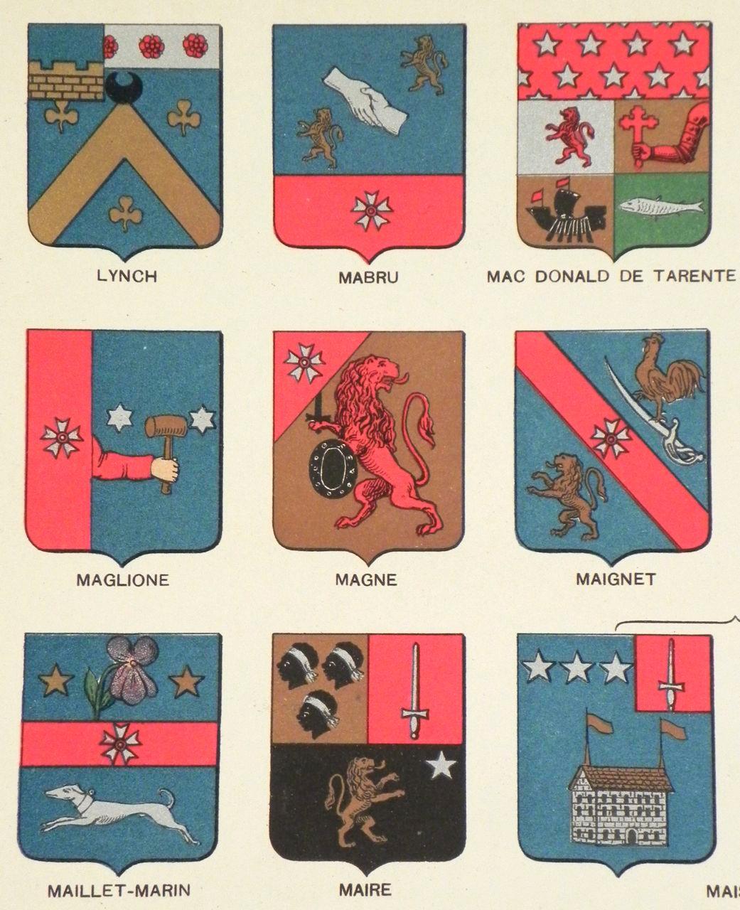 Armorial Ier empire