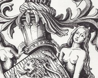 Armoiries CHEVENON de BIGNY - détail