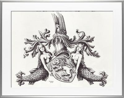 Escudo de armas CHEVENON DE BIGNY
