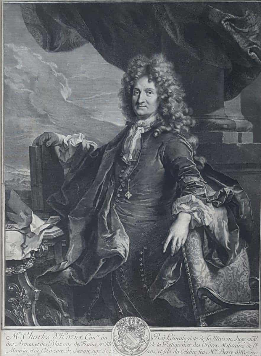 Charles d'Hozier portrait