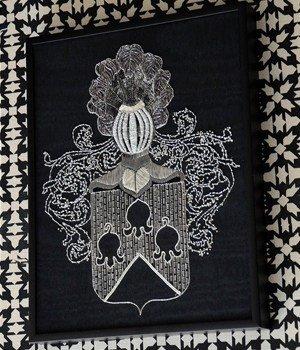 HERALDIKER PRESTA Broderie d'art artisanale entièrement faite à la main